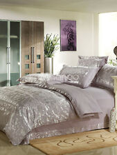 Gray 4-Piece Full Bedding Set