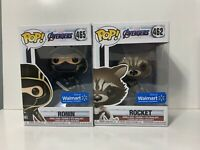 Funko Pop Marvel Avengers End Game Ronin And Rocket Walmart Exclusive