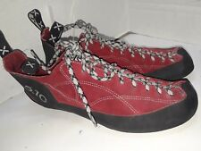 2ae26d60257 5.10 Coyote Five Ten Red Suede C4 Stealth Soles UK 10 Mens Size 11 Womens Sz