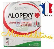 ALOPEXY 5 % Minoxidil Traitement Anti Chute Perte Repousse Cheveux 3 mois