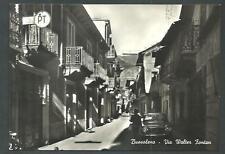 Bussoleno ( Torino ) : Via Walter Fontan - cartolina indicativamente anni '60