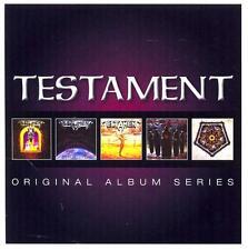 TESTAMENT - ORIGINAL ALBUM SERIES - 5CD BOX SIGILLATO 2013