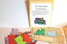 Contractions Center Game Educational Activity for Grades 1-3 New