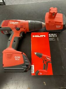 HILTI SF151-A Cordless Drill With 2 Batteries