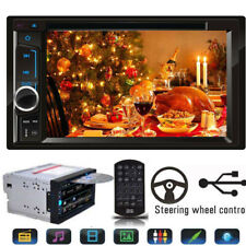 """For Sony Lens Bluetooth Car Stereo DVD CD Player 6.2""""Radio SD/USB In-Dash Mirror"""