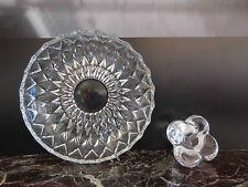 coupe bougeoir verre cristal art-déco art nouveau vintage 1920 CERAMIC by PN