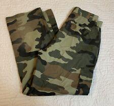 New listing Big Creek Clothing Woodland Camouflage Pants Boys Size 16 Cargo Hunting