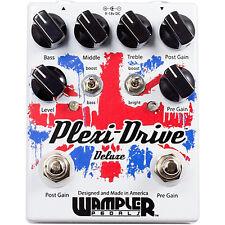 Wampler Pedals Plexi-Drive Deluxe Overdrive guitar effect pedal NEW plexi drive