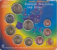 Spain KMS With Don'T Quijote, El Quixote, IN Blister, Currency Coin Set