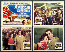 American Guerrilla In The Philippines '50 Tyrone Power Fritz Lang TC Plus 3 SC