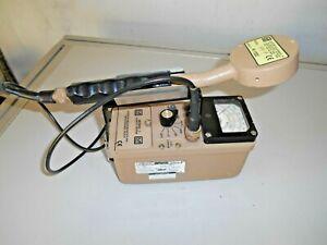 Ludlum 3 w/ 44-9 GM Pancake Probe Geiger Radiation Survey Meter Alpha/Beta/Gamma