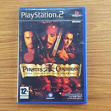 Piratas del Caribe: la leyenda de Jack Sparrow PS2 PlayStation 2