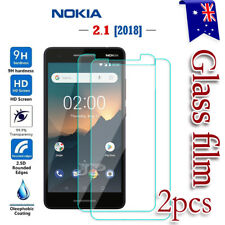 2X Nokia 2.1 2018 Tempered Glass / Plastic Screen Protector LCD Film Guard