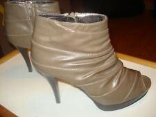 Rampage Open Toe Ankle Boot / Heel D2551 Size 10M