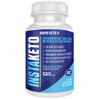 InstaKeto Insta Keto Boost Pills Ultra Fast Advanced BHB Ketogenic Supplement