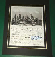 Band of Brothers Easy Company Eagle's Nest 1945 22 Reprint Signatures