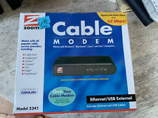 Zoom Cable Modem 5241 Windows Mac DOCSIS Popular Cable Providers NEW