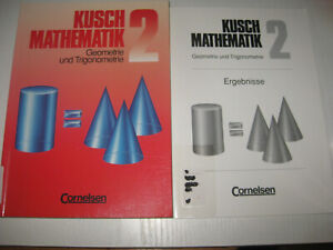 Kusch. Mathematik 2. Geometrie und Trigonometrie von Lothar Kusch + Lösungsheft