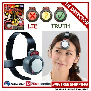 TAKARA TOMY Kokoro Scanner Lie Detector Polygraph Headset Party Toy FROM JAPAN