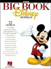 Big Book of Disney Songs F Horn Sheet Music Book 72 Tunes SAME DAY DISPATCH