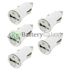 5 USB Travel Battery Car Charger Mini for Apple iPhone / Android Cell Phone