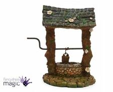 Mini Miniature Fairy Pixie Wishing Well Bucket Garden Home Accessory Ornament