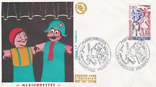 France 1982 FDC Hand Puppets Yt