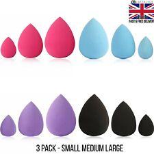 Makeup Blender Teardrop Sponges Foundation Application-Beauty Cosmetic Wedge 3pk