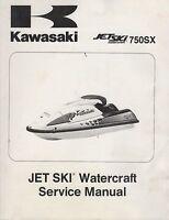 1992-1995 KAWASAKI JET SKI 750SX P/N 99924-1156-04 SERVICE MANUAL (395)