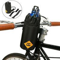 Cycling Handlebar Water Bottle Holder Bike Stem Bag Kettle Carrier Pouch