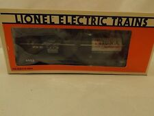 O Lionel #6323 Virginia Chemicals tank car in original box