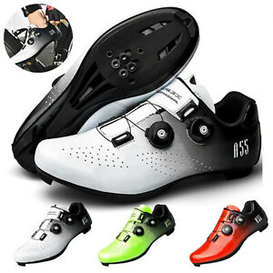 Lightweight Road MTB Cycling Shoes Racing SPD Cleat Professional Bicycle Sneaker