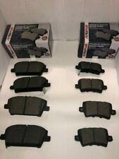 Front and Rear Brake Pads Fits Honda Civic MK8 1.4 1.8 2.2 2005-2012