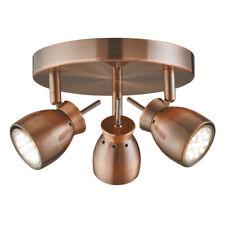 Searchlight 8813CU Jupiter Antique Copper 3 Light Ceiling Spotlight