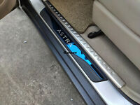 For Opel Vauxhall Astra Car Parts Accessories Door Sill Guard Sticker 2009-2019