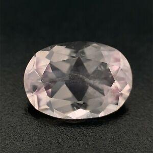 1.13ct Pinkish Morganite Crystal, Oval from Pakistan Natural Gemstone *Video*