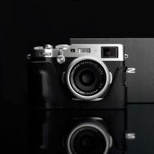 Gariz HG-X100F Leather Case for Fujifilm Fuji X100F - Black