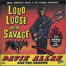 DAVIE ALLAN & the ARROWS - Loud Loose And Savage  rare Surf Garage Guitar OST CD