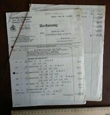 Baumann Amberg Emaille Stanzwerk 1938 Briefkopf Brief Werbung Reklame Papier 256