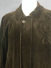 Burberry London Original Corduroy Jacket L Made In USA Nice !
