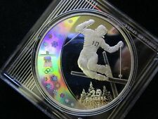 "Kanada, 25 Dollars, 2008, ""Vancouver 2010 "", Silber, Hologramm"