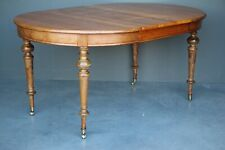 Rare antique farmhouse extension dining table Scandinavian provincial 1860