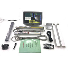 Digital Readout Dro Linear Kit Glass Scales Encodor For 9x42 Bridgeport Mill Us