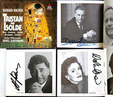 Barenboim Siegfried Gerusalemme Waltraud Meier Sign Wagner Tristan e Isolde 4cd