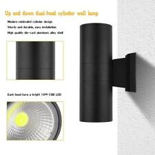 Sunsbell LED Wall Lamp Outdoor Cylinder Sconce COB 20W