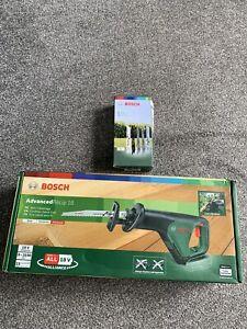 Bosch ADVANCEDRECIP 18v Cordless Recipro Saw No Batteries 5 Extra Blade Set