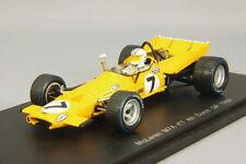 Spark 1/43 F1 Mclaren M7A No.7 Denny Hulme 1969 Países Bajos Gp Japón F / S