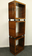 ANTIQUE ART DECO STYLE FURNITURE BOOKCASE IN ROSEWOOD LIBRARY SHELF UNIT - C220
