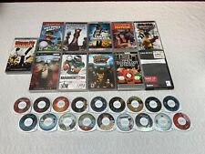 Lot of 29 PSP UMD Movies - Ratchet Clank-Pulp Fiction-Tron-Constantine-Avatar