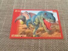 #12 Panini Dinosaurs Like Me sticker / unused / Utahraptor